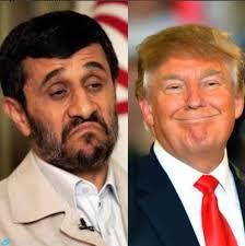 تقلید دونالد ترامپ ازروش احمدی نژادِ