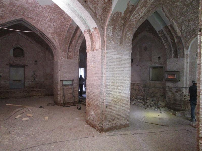 مرمت مسجد کرناسیان دزفول به همت خیران