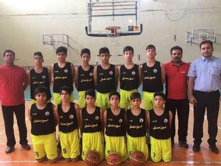 صعود تیم مینی بسکتبال خوزستان به جمع تیم های برتر کشور